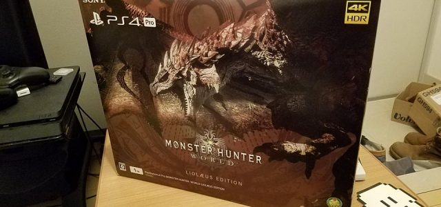 [Déballage] Sony PlayStation 4 Pro Edition Monster Hunter World