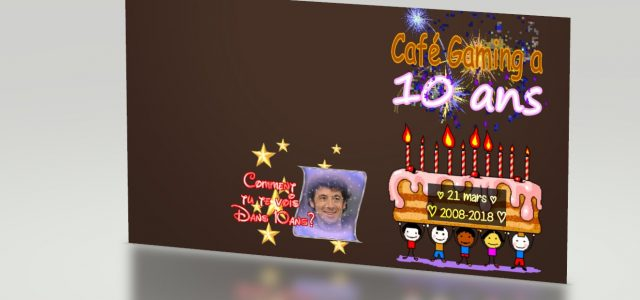 FAT STREAM : Café Gaming a 10 ans !